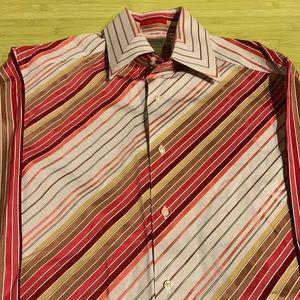 Vintage Claiborne Stripe Shirt